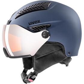 UVEX hlmt 600 Visor Helm, blue mat